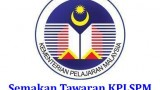 Tawaran KPLSPM