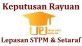 Keputusan Rayuan Lepasan STPM